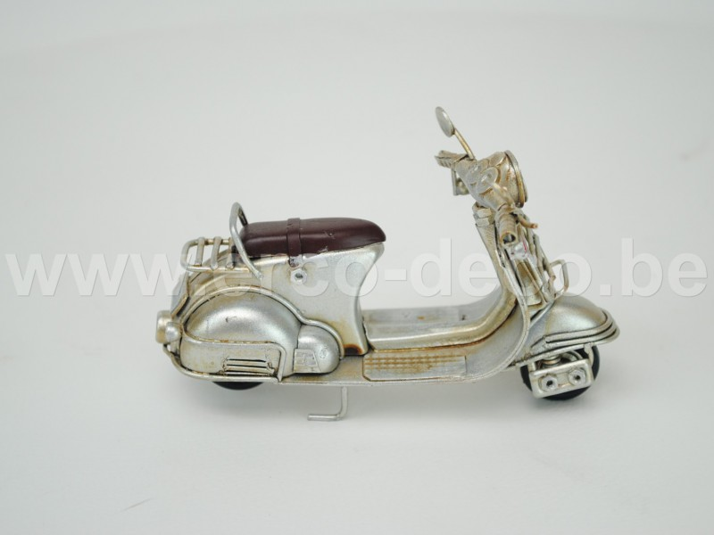 scooter mini zilver