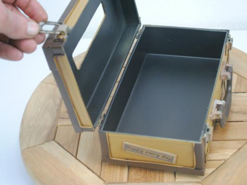 zakdoek box